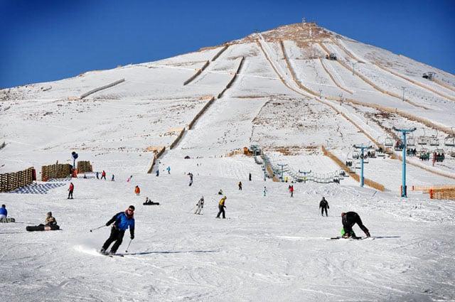 Esquiar no El Colorado no Chile