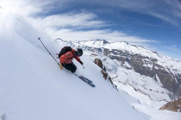 Pista de esquiar Antillanca