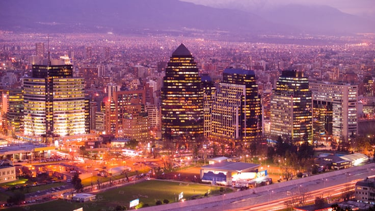 Balada After Office em Santiago do Chile
