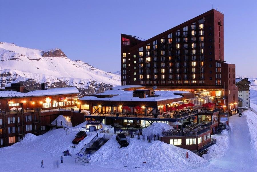 Aventuras românticas nas pistas de esqui de Santiago
