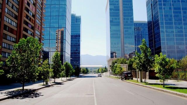 Bairro Las Condes em Santiago do Chile