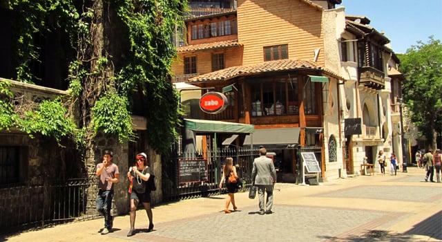 Ficar no centro de Santiago do Chile