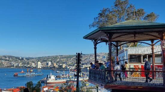 Passeio pelo Mirante 21 de Maio, Valparaíso