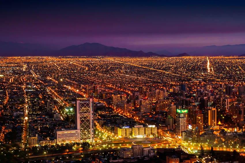 Lua de mel em Santiago