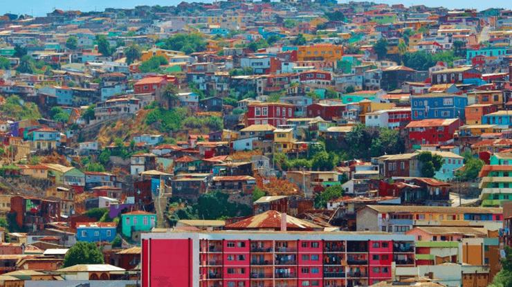 As cidades românticas de Valparaíso e Viña del Mar