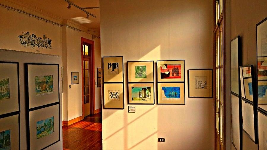 Museu Casa Mirador Lukas em Valparaíso
