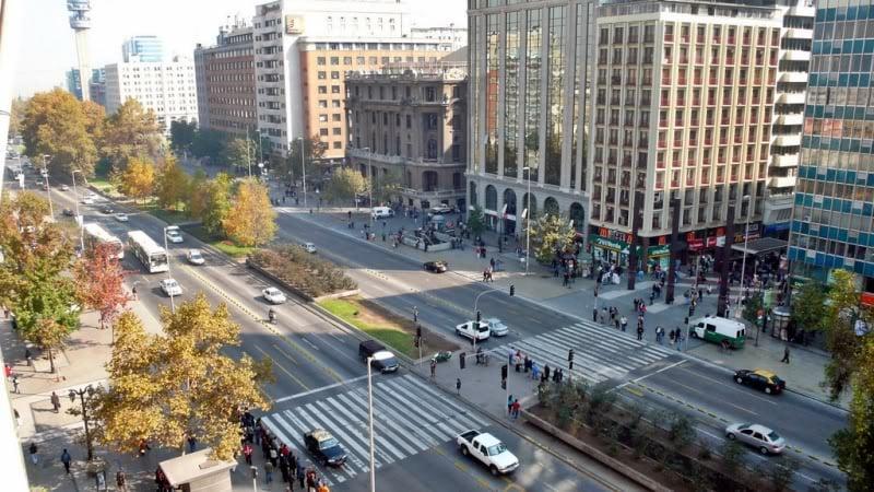 Regras de trânsito no Chile