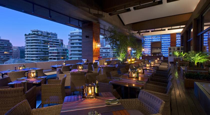Hotéis bons e baratos em Santiago