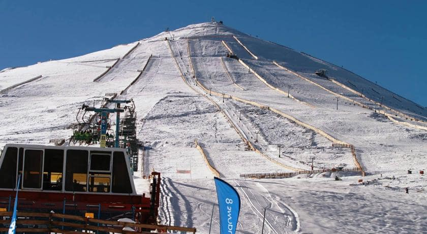 Esquiar no El Colorado em Santiago do Chile