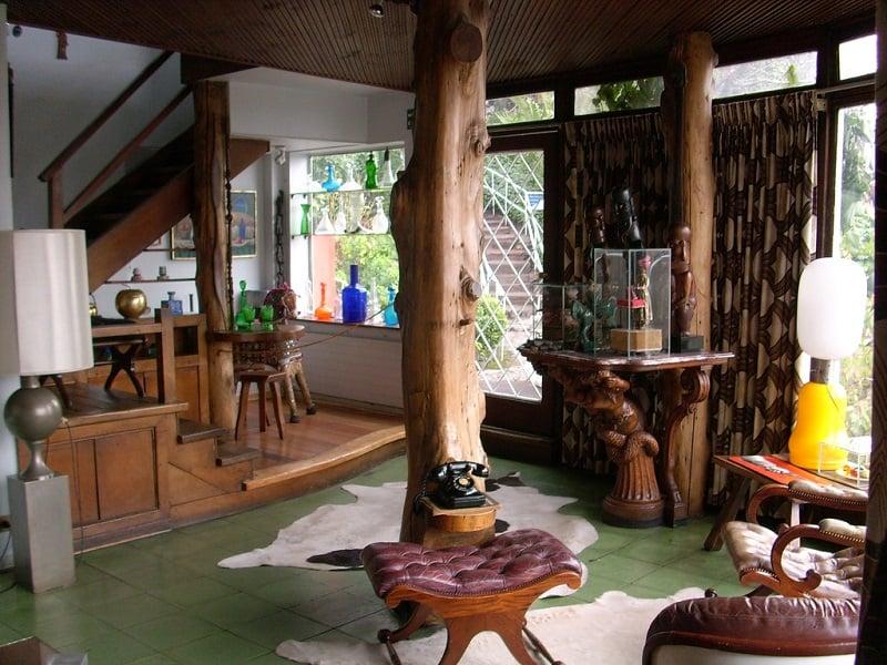 História do museu casa La Chascona