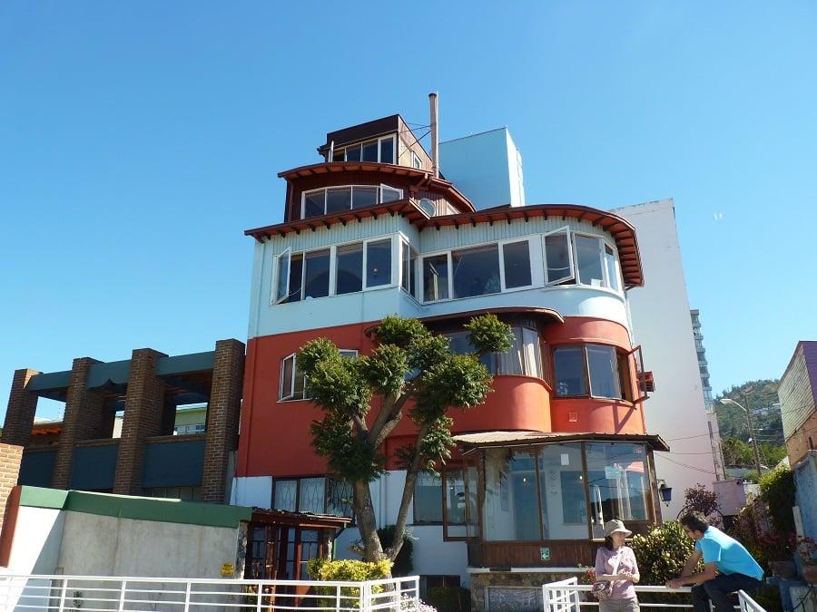 Museu Casa La Sebastiana em Valparaíso
