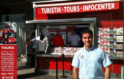 Como funciona o serviço de ônibus turístico em Santiago do Chile