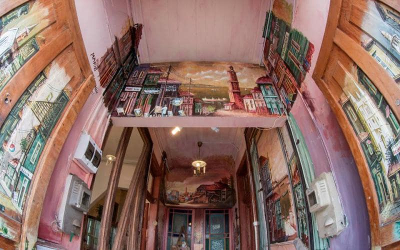 Restaurante Cafe del Pintor em Valparaíso
