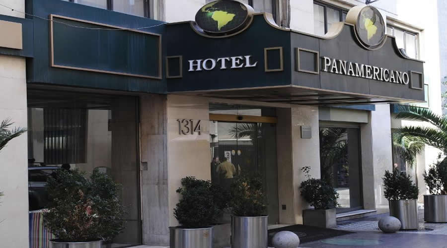 Hotel Panamericano no centro turístico de Santiago do Chile