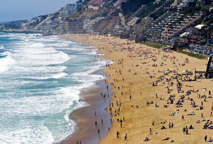 Visitar Valparaíso e Viña del Mar no verão