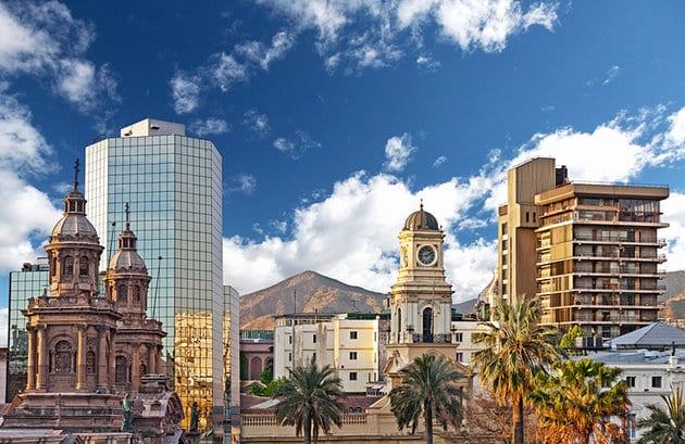 Que língua falam em Santiago do Chile