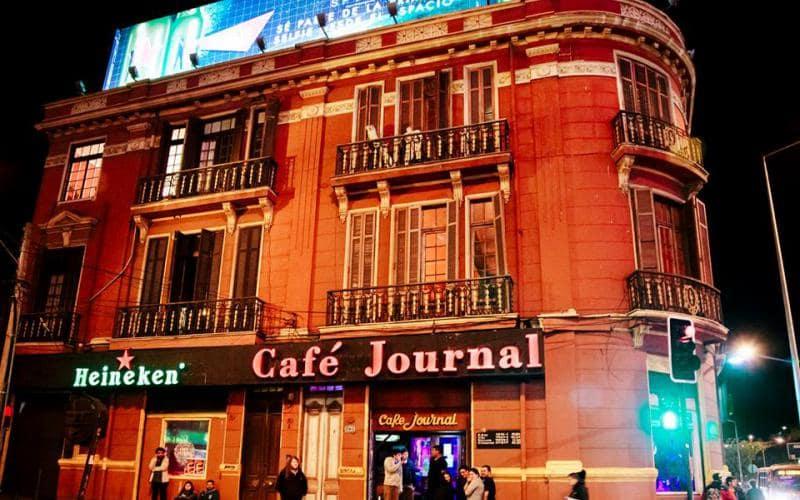 Bar Café Journal em Viña del Mar