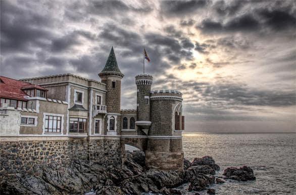Visitar o Castelo Wulff em Viña del Mar