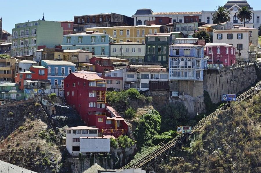 Compras no Cerro Alegre e no Cerro Concepción em Valparaíso