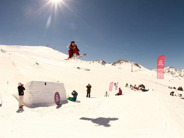 Estação de esqui El Colorado no Chile