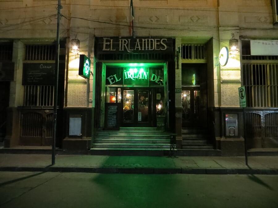 Bar El Irlandes em Valparaíso
