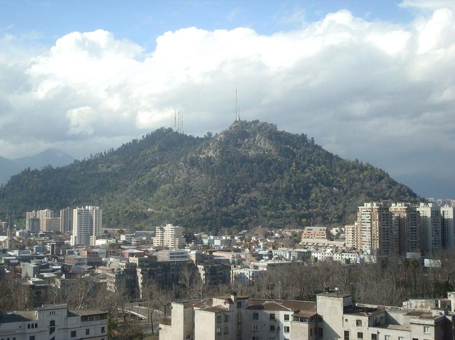 Cerro San Cristóbal e Parque Metropolitano em Santiago do Chile