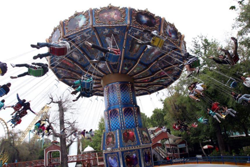 Parque Fantasilânia em Santiago do Chile