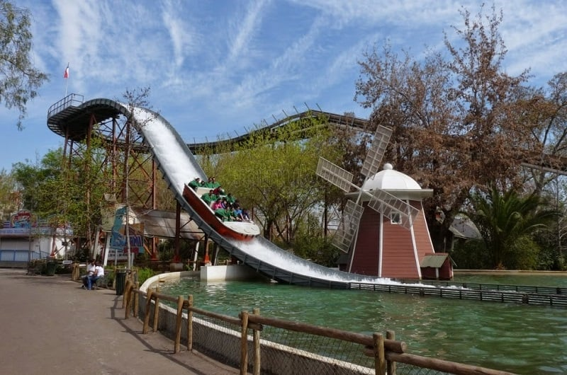 Atrações no Parque Fantasilândia