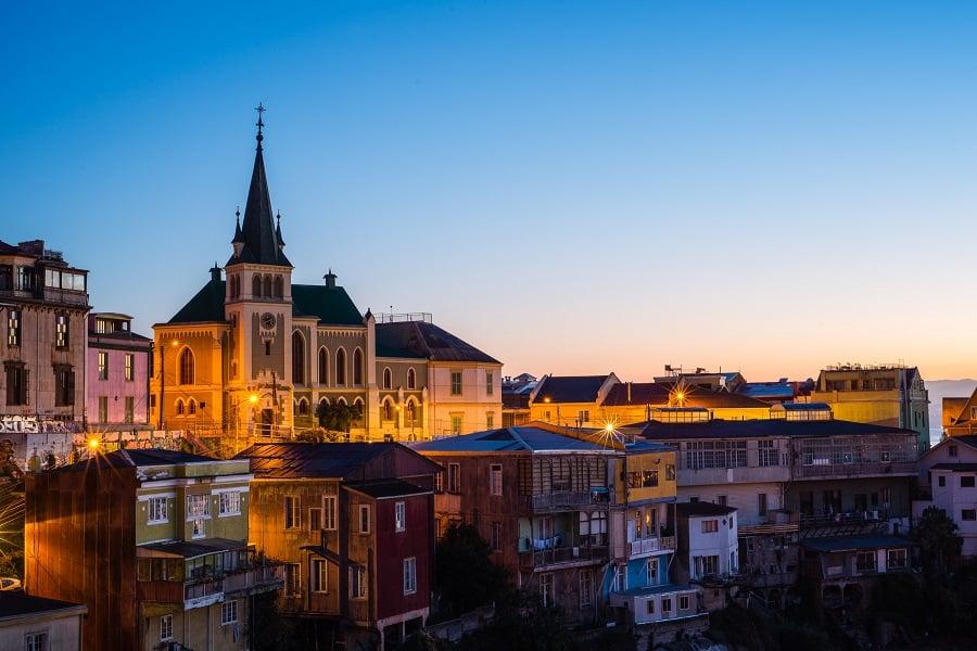 Passeio pelos cerros em Valparaíso