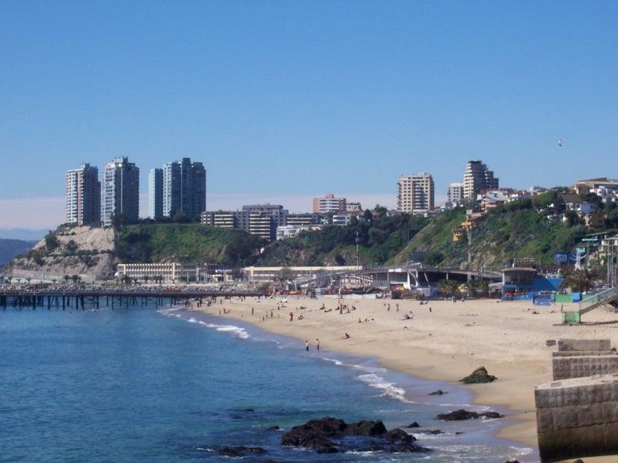Ir com crianças nas praias de Valparaíso