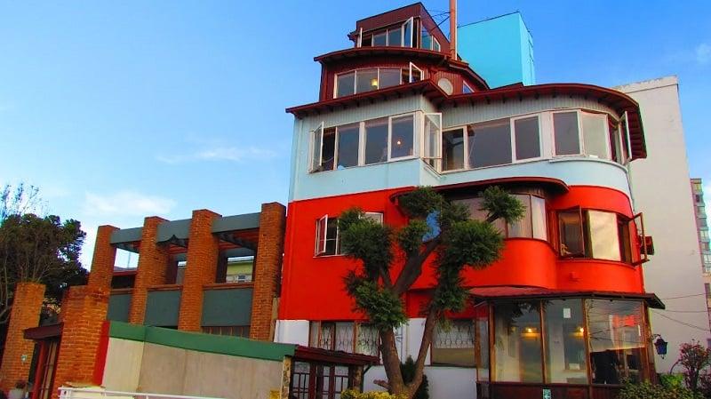 Casa Museu La Sebastiana em Valparaíso