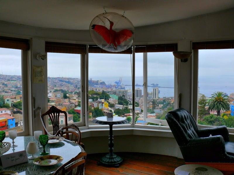 Casa La Sebastiana de Pablo Neruda em Valparaíso