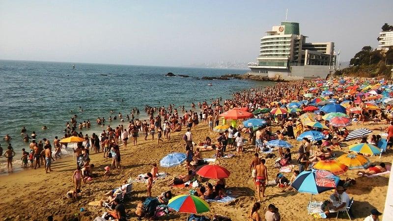 Dia 1 em Viña del Mar