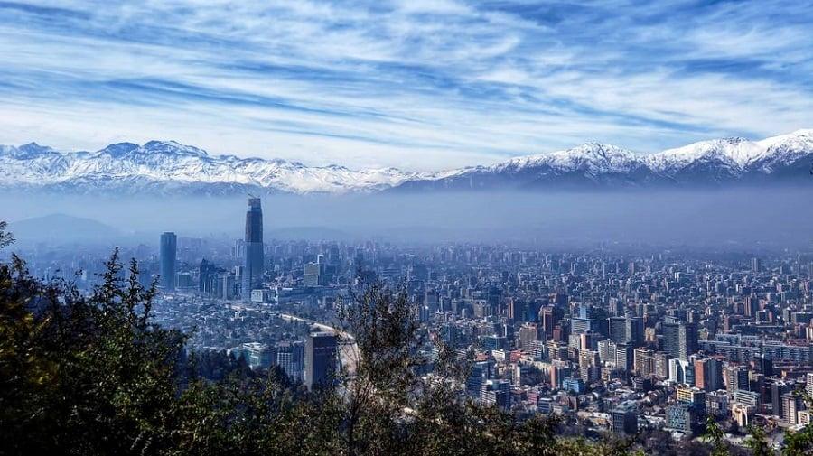 Observatórios e miradores em Santiago do Chile