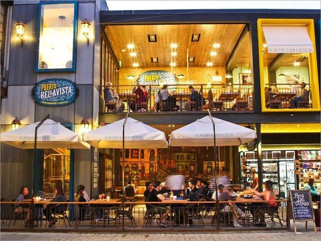 Restaurantes no bairro Bellavista em Santiago do Chile