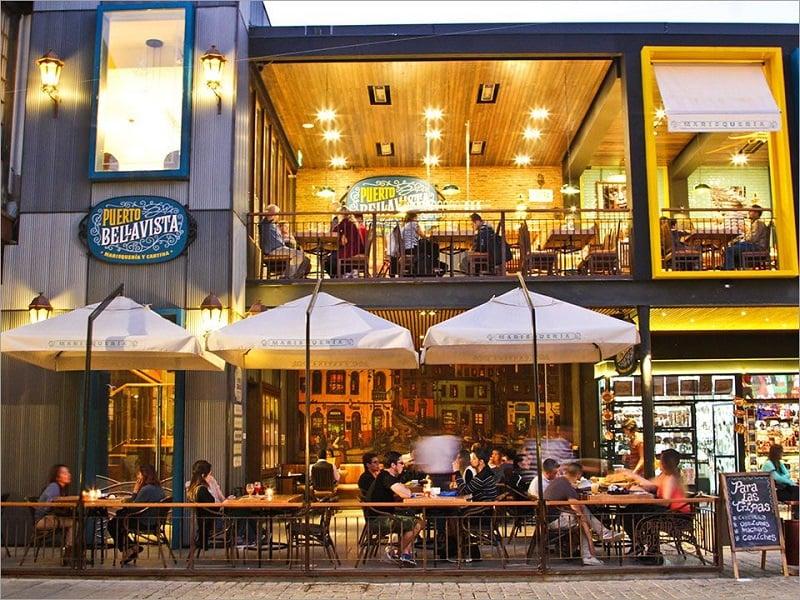 Restaurantes no Patio Bellavista