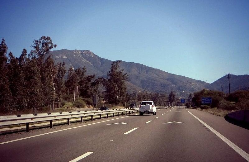 Como ir de carro do aeroporto ao centro de Valparaíso