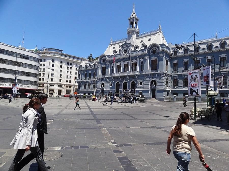 Como ir do aeroporto ao centro de Valparaíso