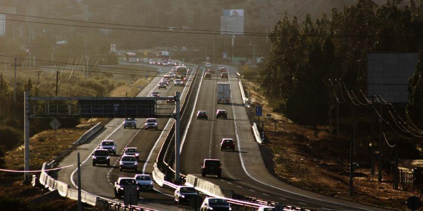Como ir de Santiago do Chile a Valparaíso de carro