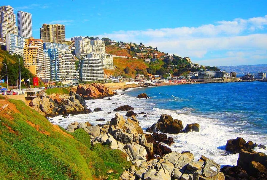 Como ir de Santiago do Chile à Viña del Mar