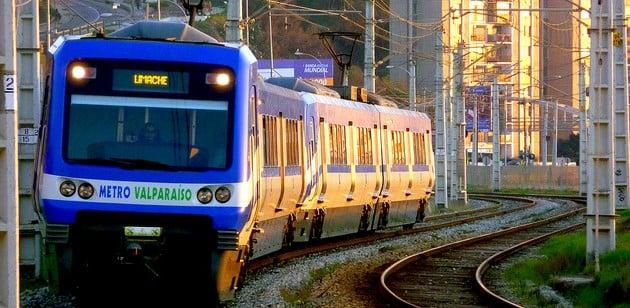 Como ir de Valparaíso a Viña del Mar de metrô