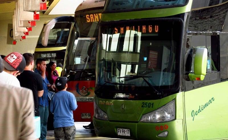 Como ir de ônibus do aeroporto ao centro de Viña del Mar