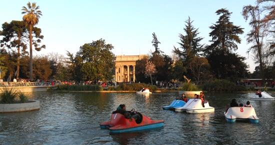 Parque Quinta Normal em Santiago