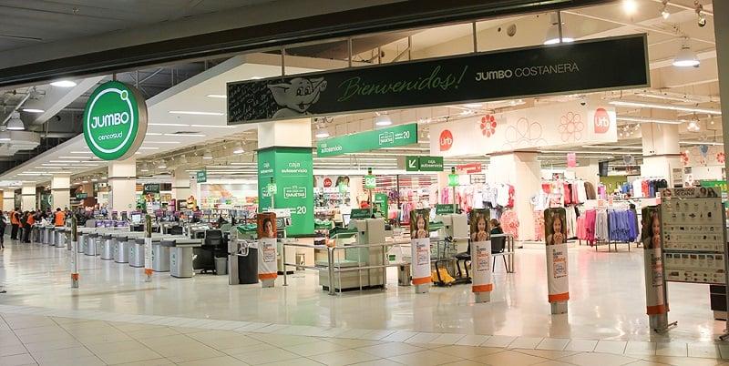 Supermercado Jumbo no Shopping Costanera Center