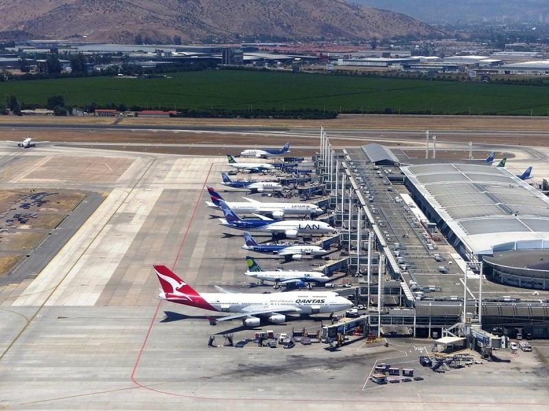 Quanto custa uma passagem aérea até Santiago do Chile: Aeroporto em Santiago