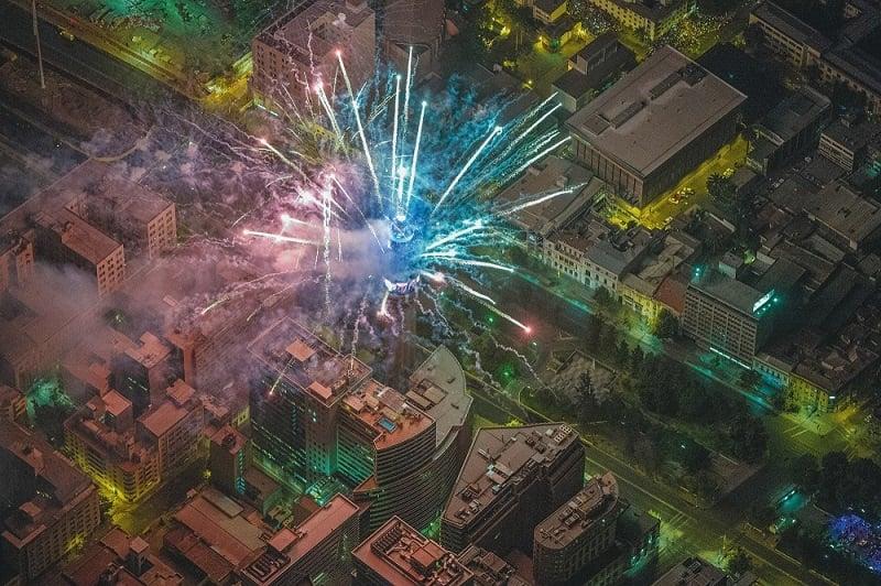 Vestimenta e tradições no Ano Novo em Santiago