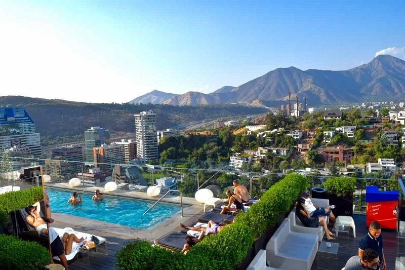 Hotel de Luxo W Santiagov