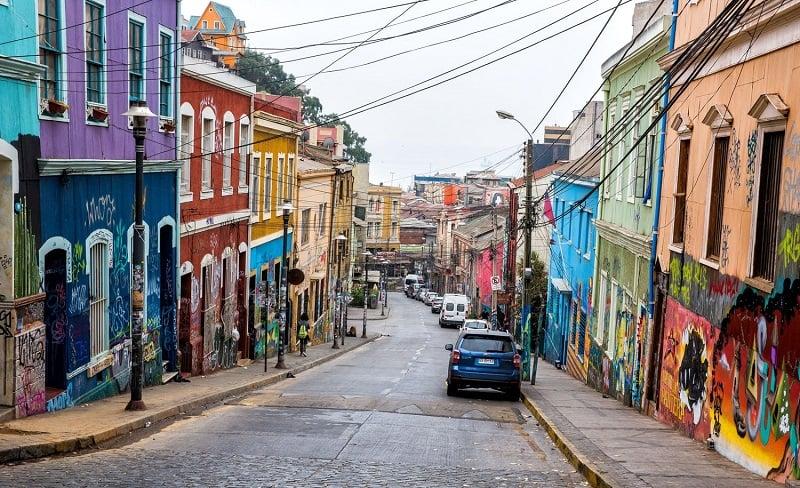 Passeio para Valparaíso no verão em Viña del Mar