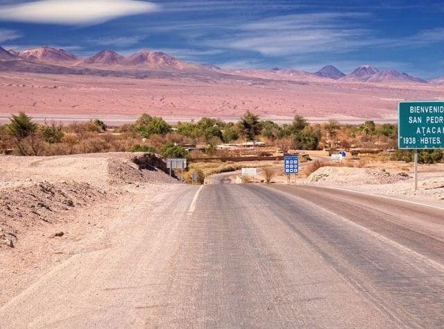 Tempo de avião até San Pedro de Atacama