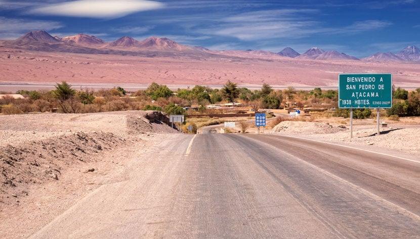 Tempo do aeroporto até San Pedro de Atacama